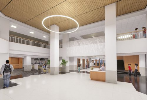 Cook Library Renovations